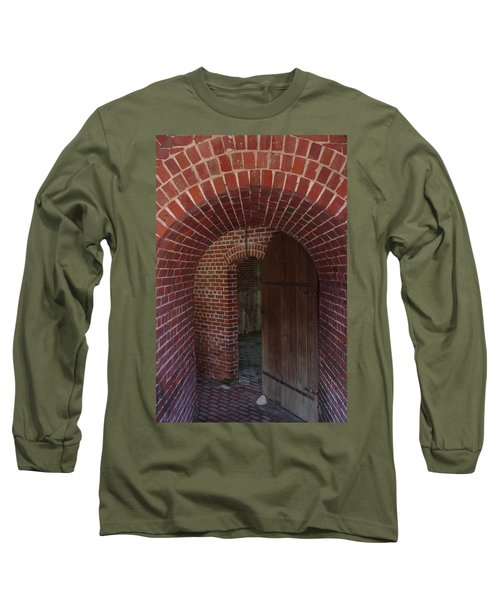 Long Sleeve T-Shirt featuring the photograph Fort East Martello by Greg Graham
