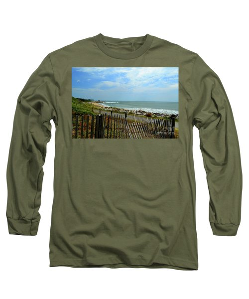 Fort Fisher Beach Long Sleeve T-Shirt