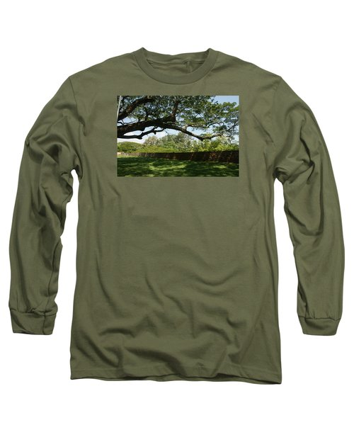 Long Sleeve T-Shirt featuring the photograph Fort Galle by Christian Zesewitz