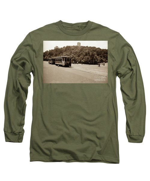 Fort Tryon Trolley Long Sleeve T-Shirt
