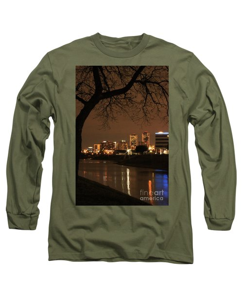 Fort Worth Skyline Long Sleeve T-Shirt