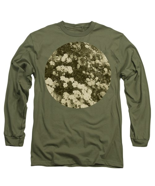 Fountain Of Blossoms Long Sleeve T-Shirt