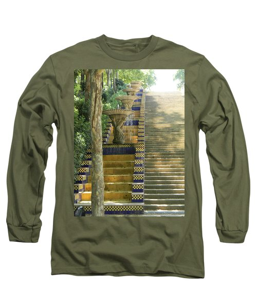 Fountains At Montjuic Long Sleeve T-Shirt