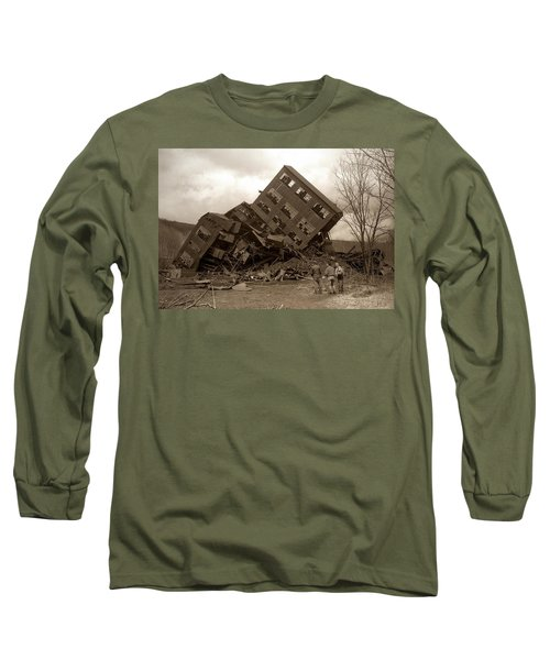Four Old Friends...swoyersville Pa Long Sleeve T-Shirt