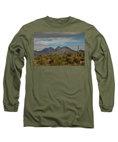 Four Peaks Painterly Long Sleeve T-Shirt