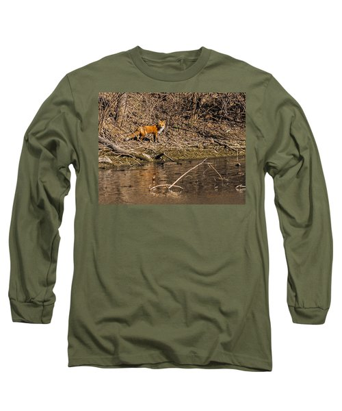 Fox Walk Long Sleeve T-Shirt
