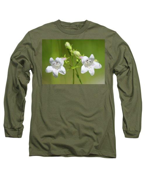 Foxglove Beardtongue Long Sleeve T-Shirt
