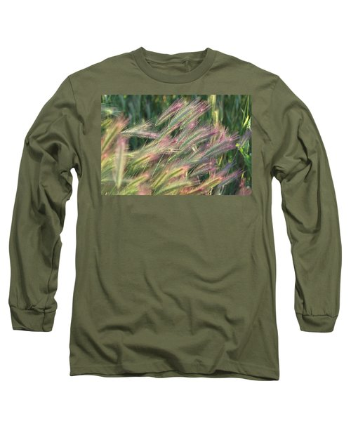 Foxtails In Spring Long Sleeve T-Shirt
