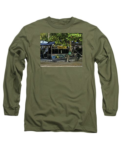 Foxy's On Jost Van Dyke Long Sleeve T-Shirt