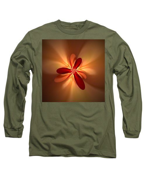 Fractal 4 Long Sleeve T-Shirt
