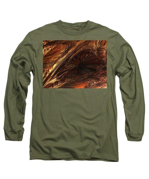 Fractal Structure 003 Long Sleeve T-Shirt