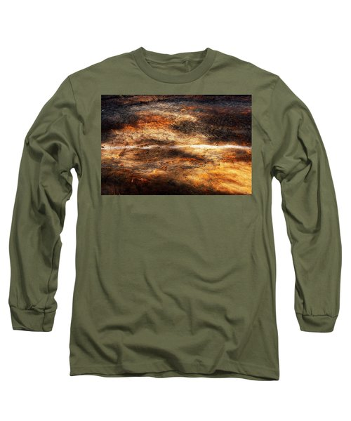 Long Sleeve T-Shirt featuring the photograph Fractured by Ryan Manuel