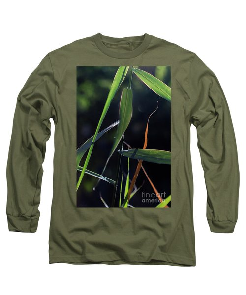Long Sleeve T-Shirt featuring the photograph Fragment by Linda Lees