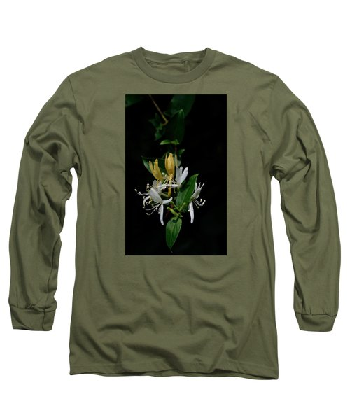 Fragrant Honeysuckle Long Sleeve T-Shirt by Karen Harrison