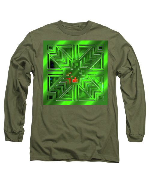 Frank Lloyd Wright Design Long Sleeve T-Shirt