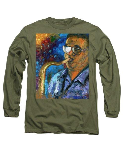 Frankie Scott-extempore Long Sleeve T-Shirt