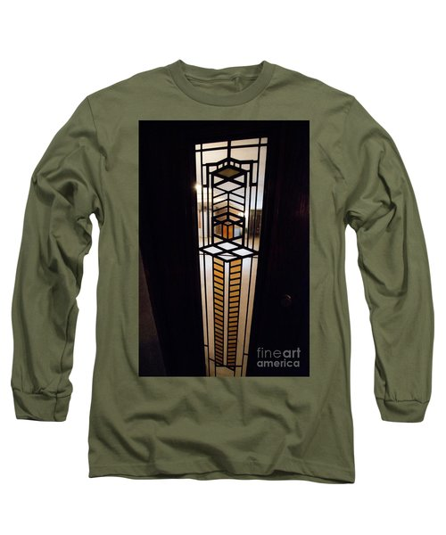 Frederick Robie House - 3 Long Sleeve T-Shirt by David Bearden
