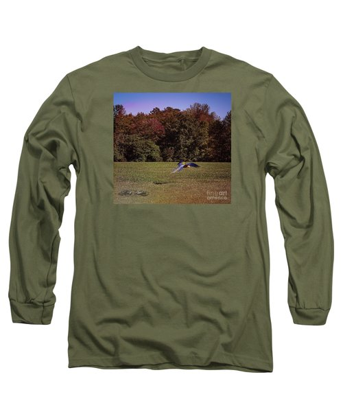 Free Flighted Macaw Long Sleeve T-Shirt by Melissa Messick