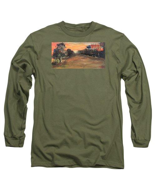 Freedom Road Long Sleeve T-Shirt by Remegio Onia