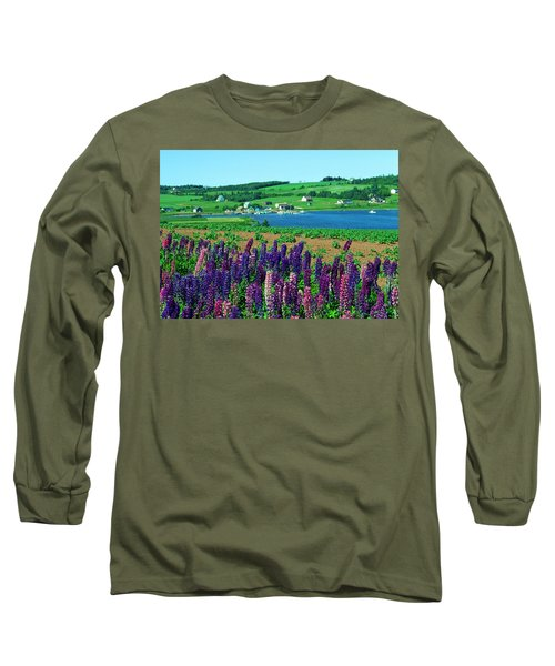 French River, Prince Edward Island Long Sleeve T-Shirt