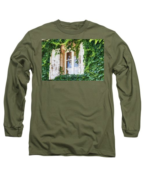 French Window In Provence Long Sleeve T-Shirt