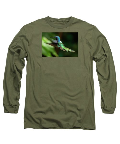 Frequent Flyer, Mindo Cloud Forest, Ecuador Long Sleeve T-Shirt