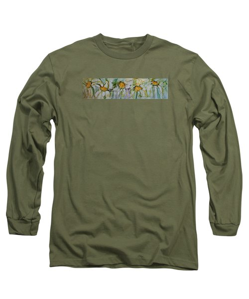 Fresh As A Daisy Long Sleeve T-Shirt