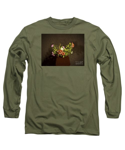 Long Sleeve T-Shirt featuring the photograph Fresh Flowers  ... by Chuck Caramella