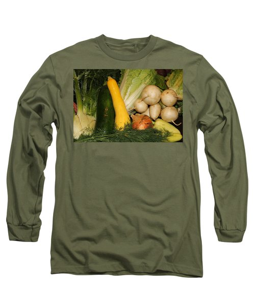 Fresh Garden Produce Long Sleeve T-Shirt