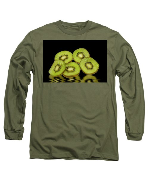 Fresh Kiwi Fruits Long Sleeve T-Shirt