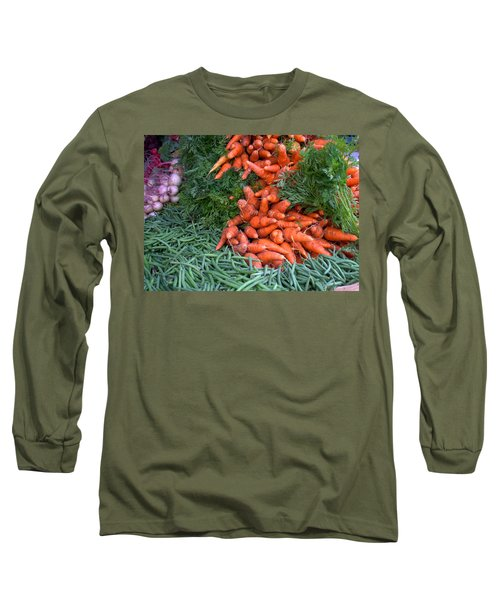 Fresh Veggies Long Sleeve T-Shirt