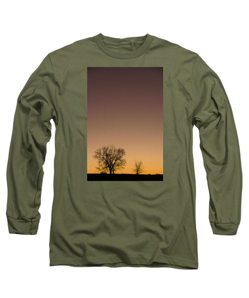 Long Sleeve T-Shirt featuring the photograph Friends Awaiting Sunrise by Monte Stevens
