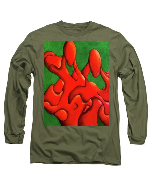 Friendship Long Sleeve T-Shirt by Versel Reid