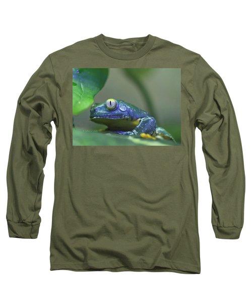 Fringed Leaf Frog Long Sleeve T-Shirt