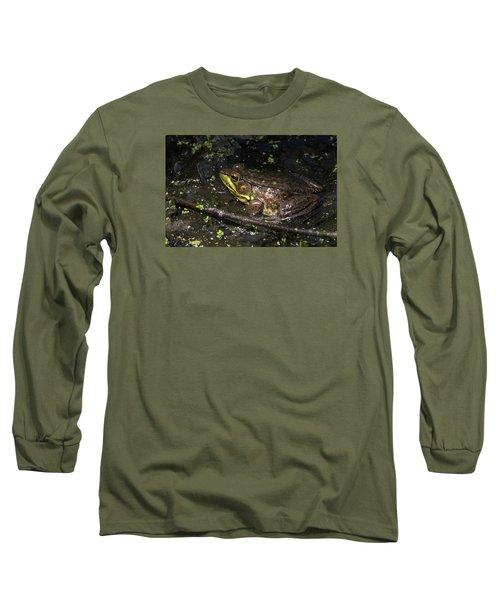 Frog Closeup Long Sleeve T-Shirt