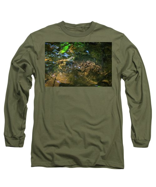 Long Sleeve T-Shirt featuring the photograph Frog Days Of Summer by Bill Pevlor