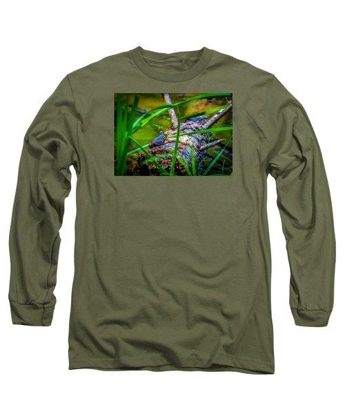 Frog On A Log 1 Long Sleeve T-Shirt