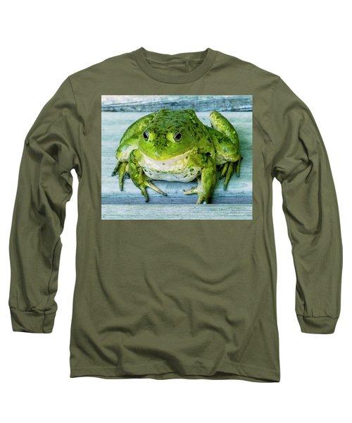 Frog Portrait Long Sleeve T-Shirt