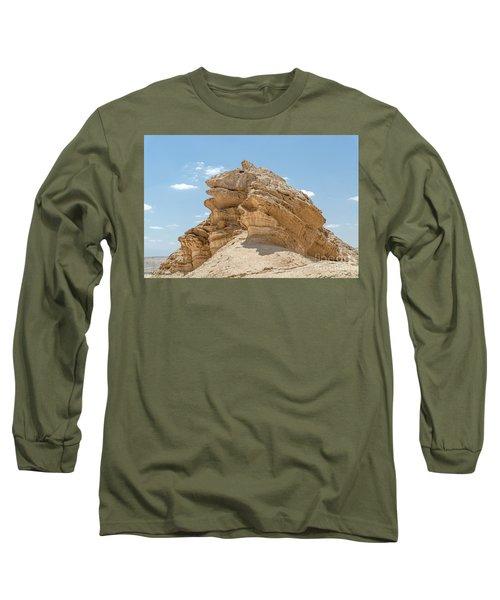 Long Sleeve T-Shirt featuring the photograph Frog Rock by Arik Baltinester