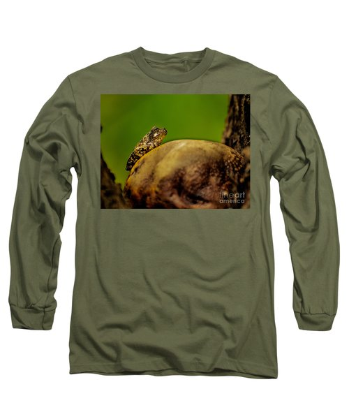Frog Waits Long Sleeve T-Shirt