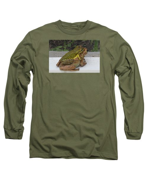 Long Sleeve T-Shirt featuring the photograph Froggy Love by Melinda Saminski
