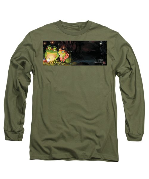 Frogs At Silver Lake Long Sleeve T-Shirt
