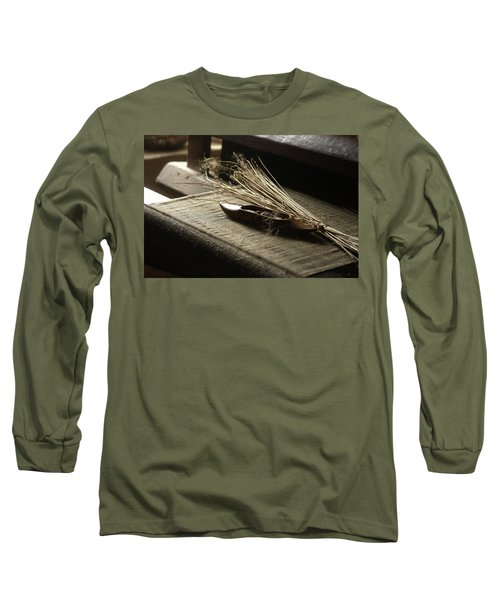 Long Sleeve T-Shirt featuring the photograph From Flax To Linen by Emanuel Tanjala