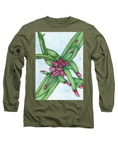 From My Garden 3 Long Sleeve T-Shirt by Versel Reid