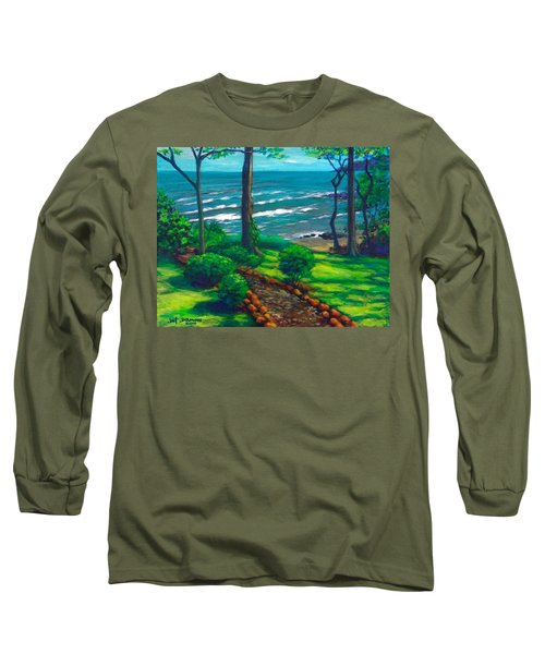 From The Hacienda Long Sleeve T-Shirt by Jeanette Jarmon