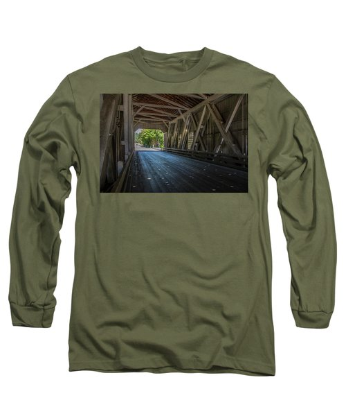 From The Inside Looking Out - Shimanek Bridge Long Sleeve T-Shirt