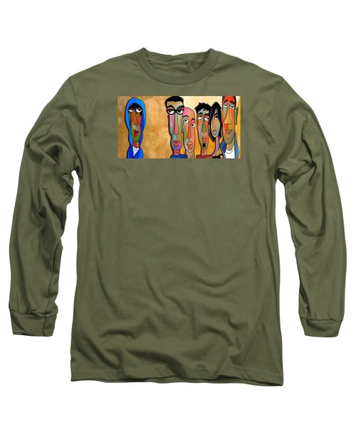 From The Rough Side Long Sleeve T-Shirt by Tom Fedro - Fidostudio