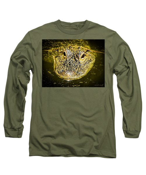 From The Series I Am Gator Number 5 Long Sleeve T-Shirt