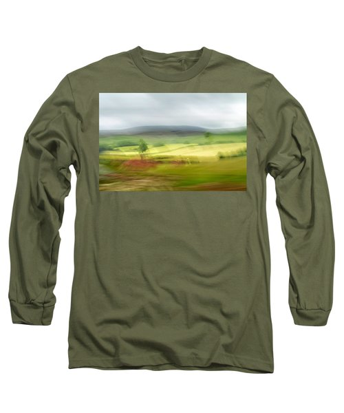 heading north of Yorkshire to Lake District - UK 1 Long Sleeve T-Shirt