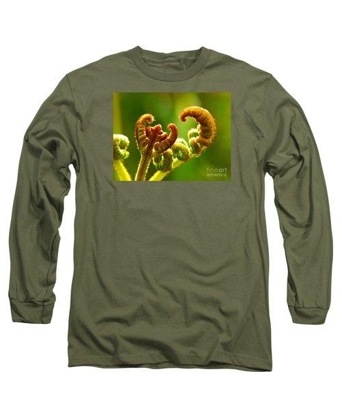 Frond Fern Long Sleeve T-Shirt